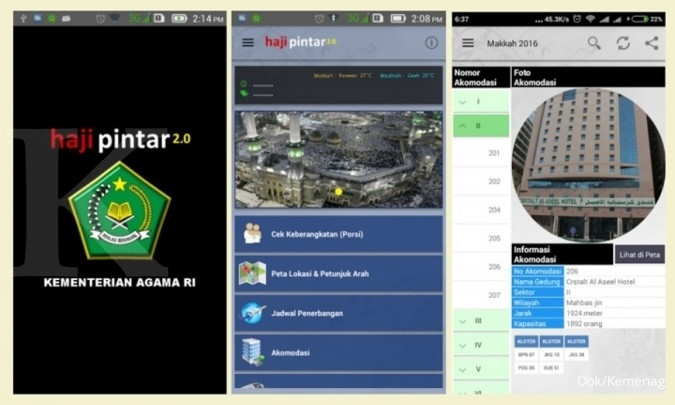 Kemnag luncurkan versi baru aplikasi haji