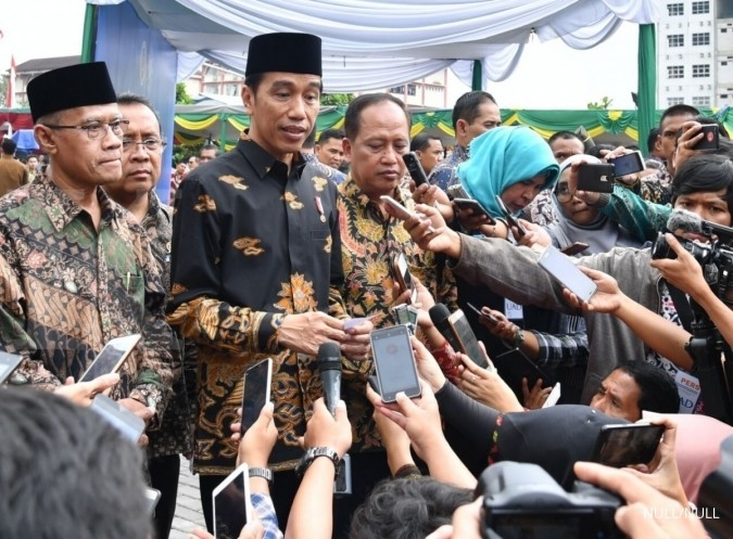 Jokowi: Kurikulum ikut perkembangan jaman