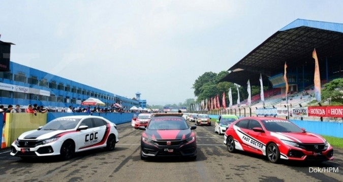 Honda Civic jadi safety car di ISSOM
