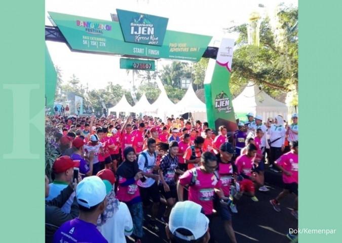 Pelari asing antusias ikut Ijen Green Run