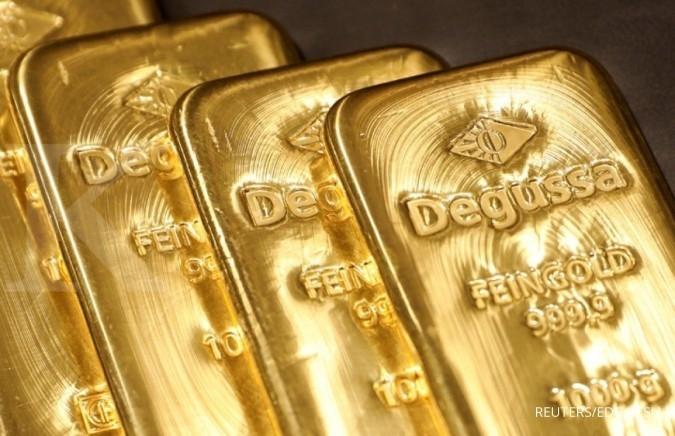 Emas cetak level tertinggi dua bulan