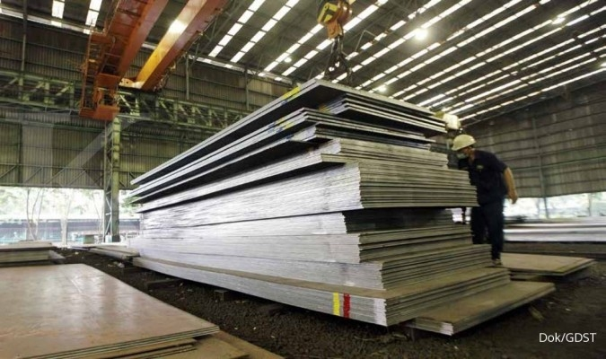 GDST BTON BAJA KRAS Simak rekomendasi saham baja di tengah maraknya isu dumping
