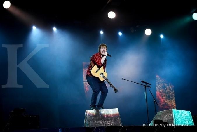 Jelang konser Asia, Ed Sheeran alami kecelakaan