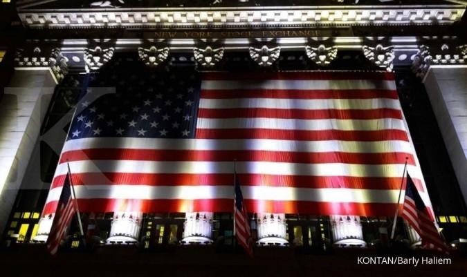 Wall Street dibuka solid di zona hijau