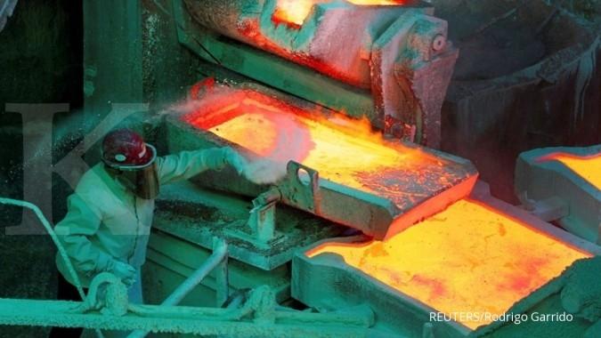 IPO Amman Mineral, momentum membangun smelter