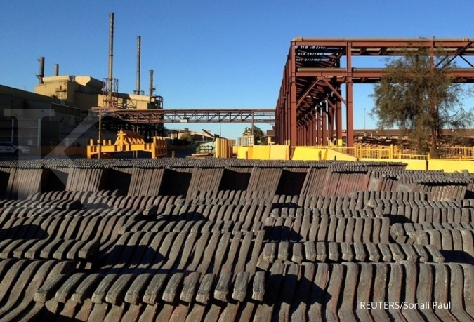Laju logam industri terbesar sejak Oktober