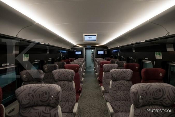 Bank Pembangunan China cek syarat kereta cepat