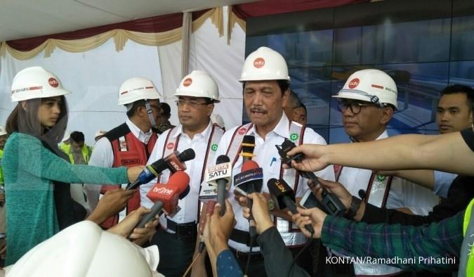 2018, proyek LRT Cibubur-Bogor mulai dibangun