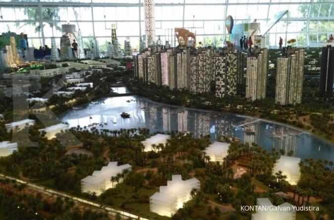 Hunian kota reklamasi Forest City mulai Rp 2 M