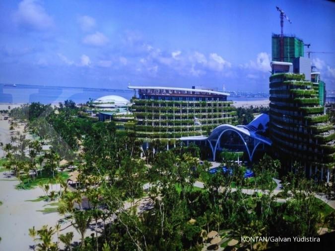 Begini wujud kota reklamasi Forest City Malaysia