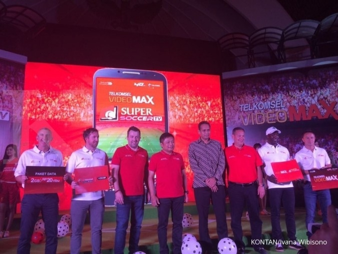 Telkomsel dan SuperSoccer hadirkan live streaming
