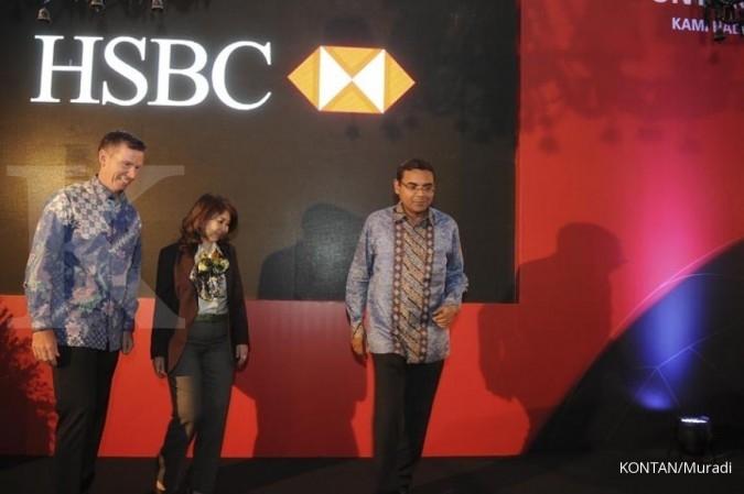 Pacu Kinerja, HSBC Indonesia genjot fee based