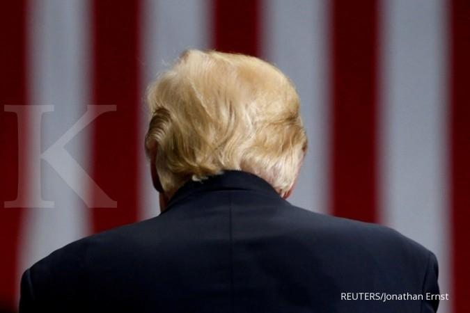 Prediksi ghostwriter: Trump akan mengundurkan diri