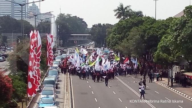 TNI-Polri apel bersama pengamanan aksi buruh