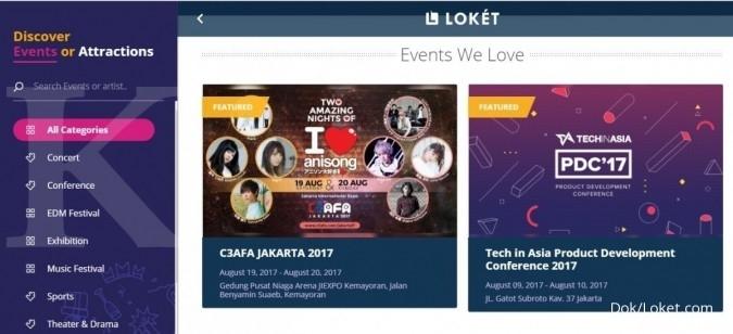 Perkuat bisnis hiburan, Go-Jek akuisisi Loket.com