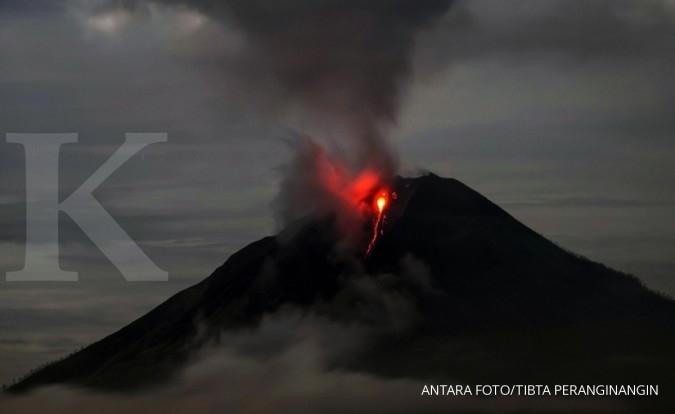 Jokowi tinjau lokasi korban erupsi Gunung Sinabung