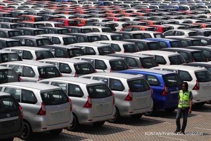 Roda bisnis emiten sektor otomotif berputar pelan