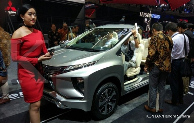 Mitsubishi Xpander resmi meluncur di GIIAS