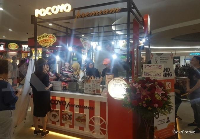 Mencetak hangat cuan Pocoyo Waffle
