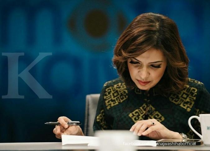 Najwa Shihab belum berminat jadi menteri