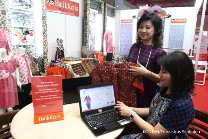 Batik Keris meluncurkan penjualan online