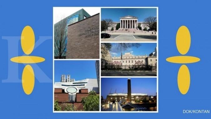 5 Galeri seni termegah di dunia