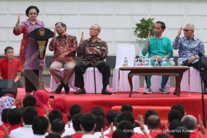 Megawati perkenalkan 'Salam Pancasila'