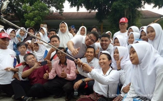 Perhatian rakyat Serang tersedot ke Menteri Rini