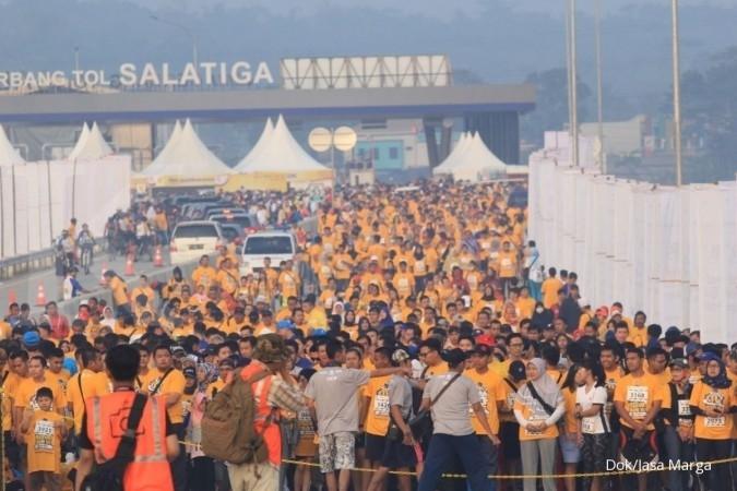 Festival jalan tol Bawen-Salatiga sukses digelar