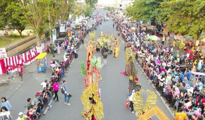 Yuk, tonton pesona karnaval terbesar ketiga dunia