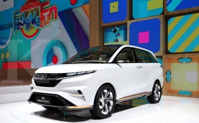 Penjualan Daihatsu naik 9% di Januari-Juli 2017
