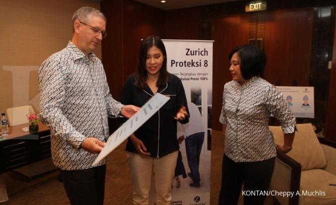 Zurich Topas Life perkuat bancassurance dan agen