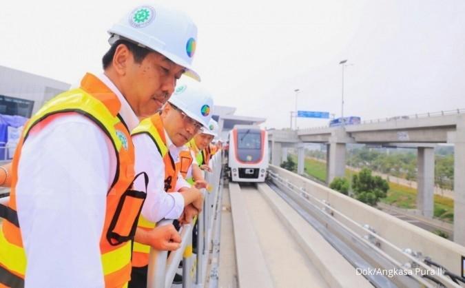 Pasca uji coba, Skytrain beroperasi di September