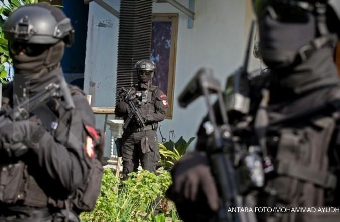 Densus 88 tangkap terduga teroris di Ponorogo