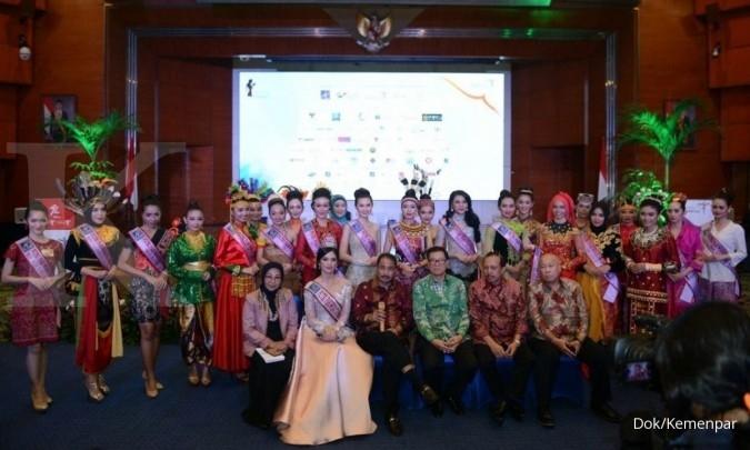 Bersaing merebut Mahkota Putri Pariwisata 2017