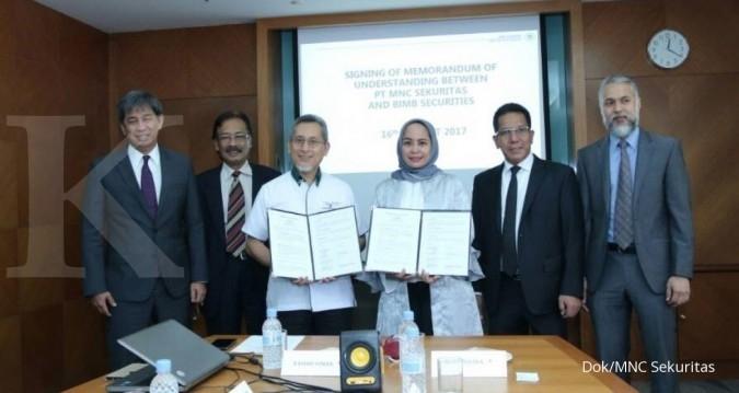 MNC Sekuritas menjajal pasar saham Malaysia