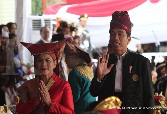Apa tujuan Jokowi kenakan baju adat di HUT RI?