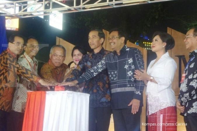Jokowi bolak-balik datangi Simpang Susun Semanggi