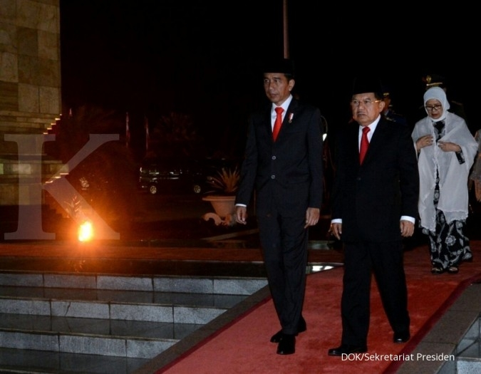 Presiden Jokowi pimpin renungan suci
