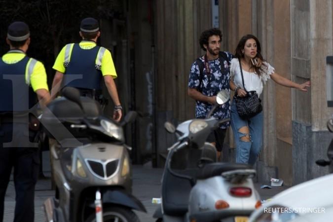 Setidaknya 13 tewas dalam serangan di Barcelona