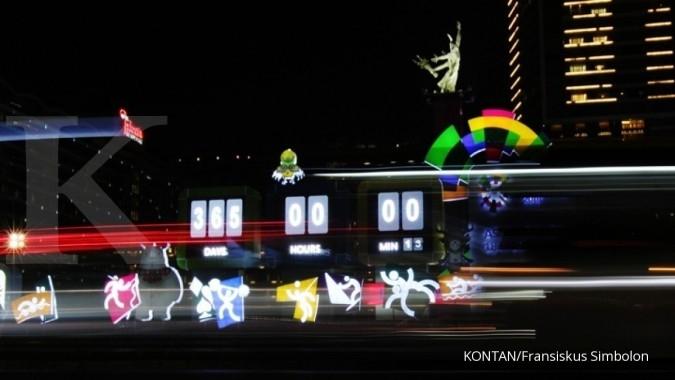 Ribuan penonton ramaikan countdown Asian Games