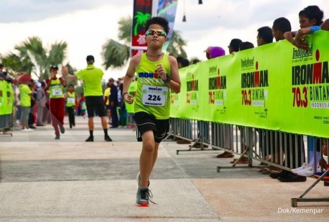 Ironkids ramaikan Ironman triathlon Bintan 2017