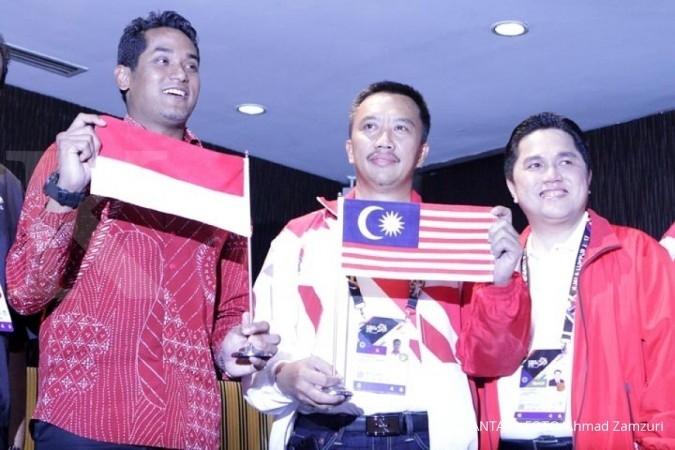 Jokowi maafkan Malaysia soal bendera terbalik