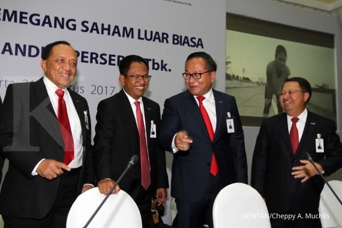 Wajah baru pengurus Bank Mandiri dan Pegadaian