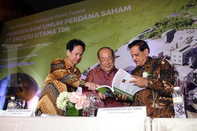 Emdeki Utama menargetkan dana IPO Rp 400 miliar