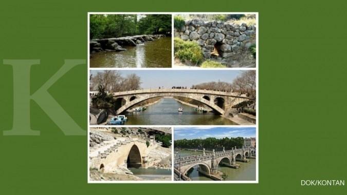 5 Jembatan tertua di dunia