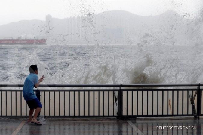 Topan Mawar bakal menerjang China Minggu ini