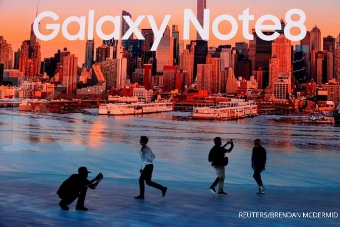 Coba raih kepercayaan, Samsung rilis Galaxy Note 8