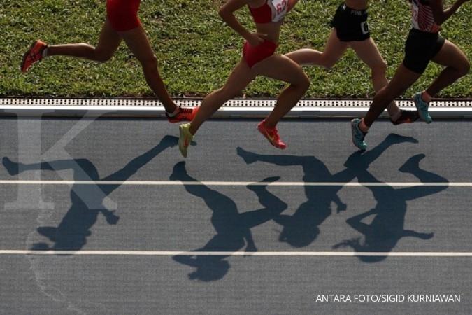 Saat lari jarak jauh, bagaimana jaga stamina?