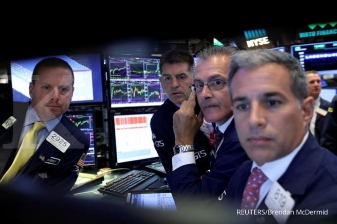 Bursa AS menghijau di akhir bulan